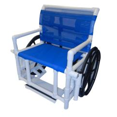 Shower Wheel Chair Wood Lawn Chairs Healthline Medical Bariatric Wheelchair With Sling