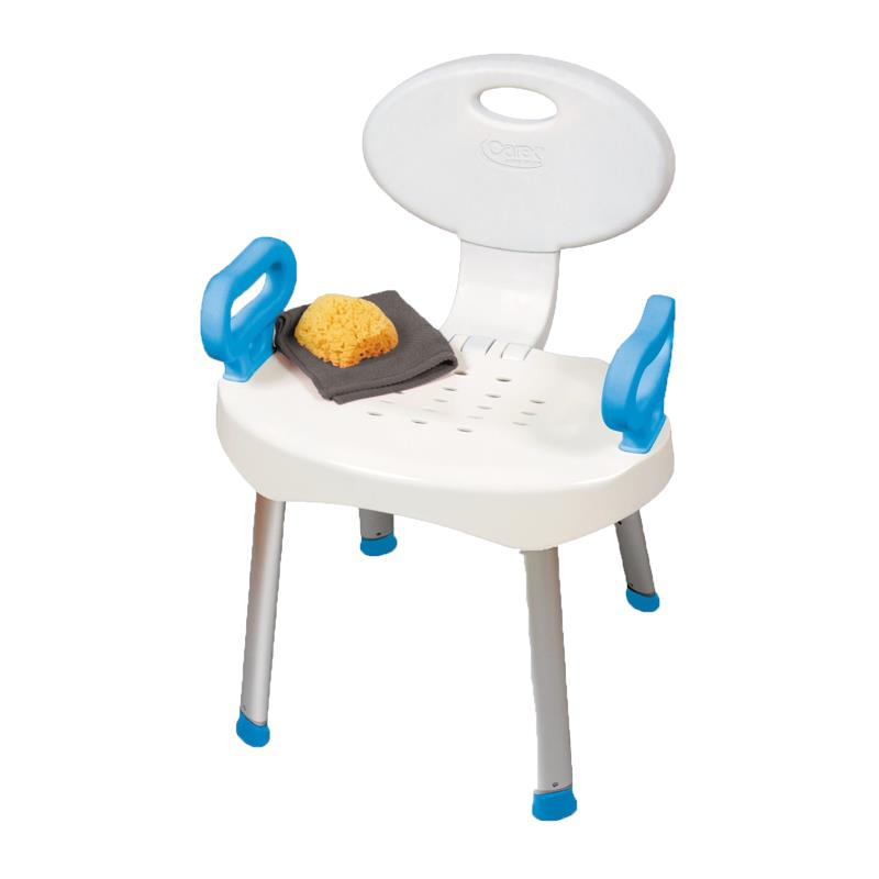 Carex EZ Bath and Shower Chair with Handles  Shower Chairs