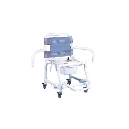 shower chair with wheels and removable arms twin sleeper duralife deluxe dual swing arm commode chairs