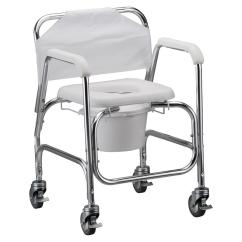 Medical Shower Chairs Folding Dining Room Target Nova Chair And Commode With Wheels