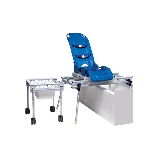 transfer shower chair low chairs for adults columbia elite reclining bath and system benches