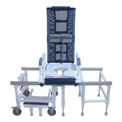 Transfer Shower Chair Cheap White Banquet Covers For Sale Mjm International All Purpose Tilt N Space And Chairs