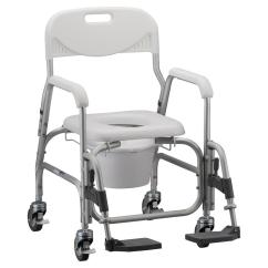 Medical Shower Chairs Ivory Linen Chair Covers Nova Deluxe And Commode With Padded Seat 2352015915nova Swing Away Footrest L Png