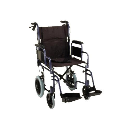 transport wheelchair nova clear dining chairs canada medical 19 inches lightweight chair with detachable 2592009419352b l png