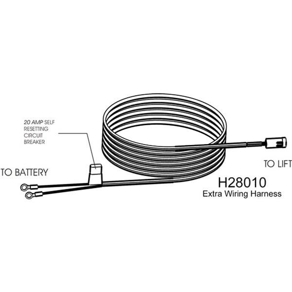 scooter lift wiring harness