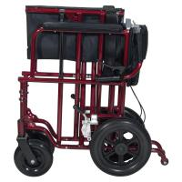 Drive Bariatric Heavy Duty Aluminum Transport Chair ...