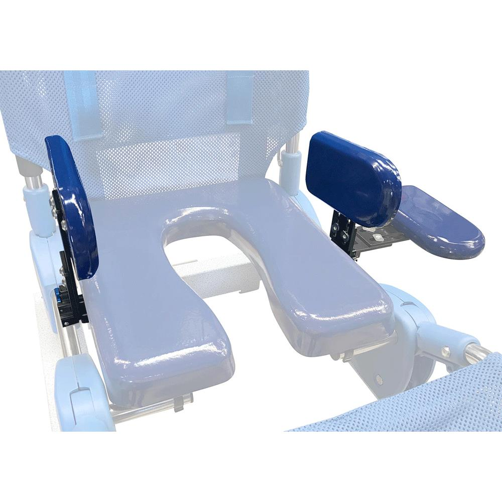 columbia medical bath chair recliner sleeper ultima access transfer with compact base | benches