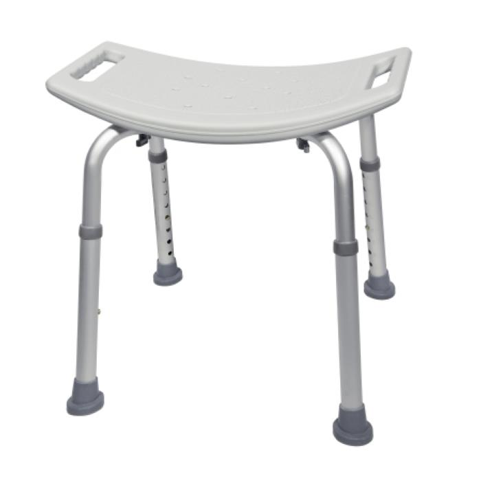 chair without back jysk dining room covers mckesson aluminum bath bench shower chairs