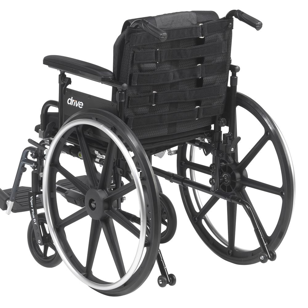 Wheel Chair Cushion Drive Adjustable Tension Wheelchair Back Cushion
