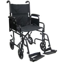 Transport Wheel Chair Fishing Walmart Karman Healthcare T 2700 Wheelchair With Removable 2362017726healthcare Detachable Arm L Png
