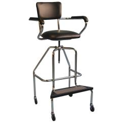Steel Chair Accessories Target Recliner Covers Brandt Hydrotherapy With Casters Whirlpool Chairs