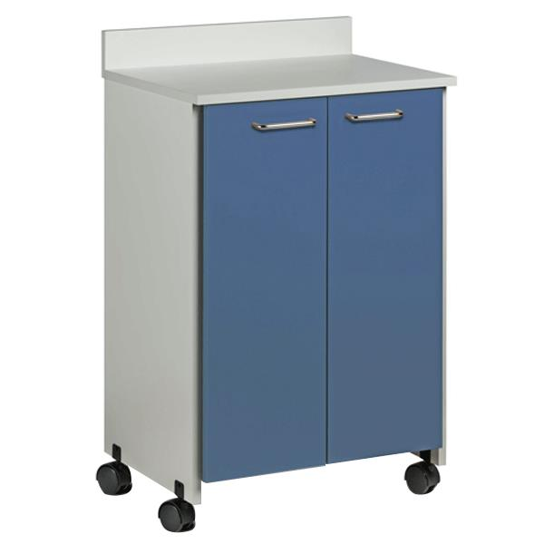 Clinton Mobile Treatment Cabinet with Two Doors  Cabinets