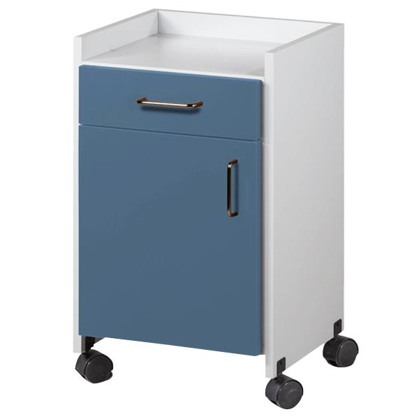 Clinton Mobile Bedside Cabinet  Cabinets