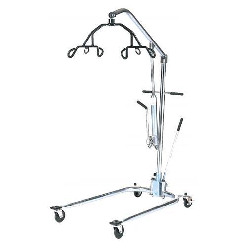 Hoyer Classics Hydraulic Chrome Manual Patient Lift