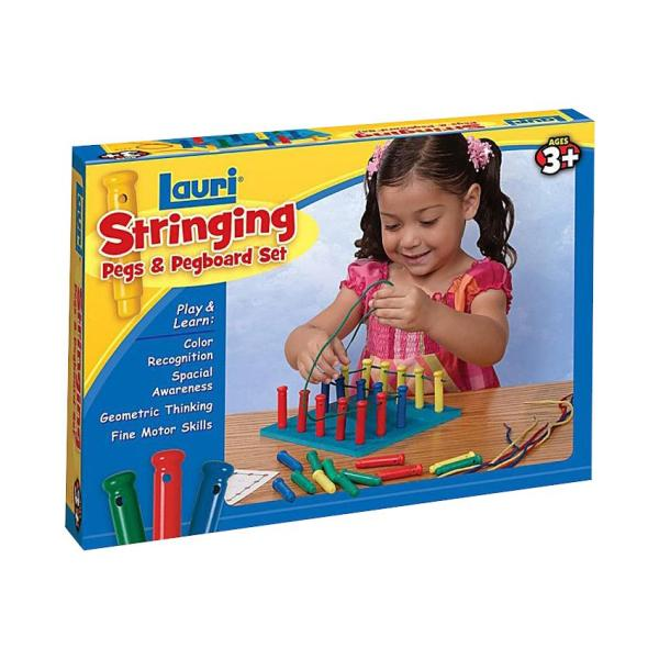 Lauri Stringing Pegs And Pegboard Set Peg Boards