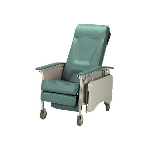 invacare clinical recliner geri chair beach with face hole deluxe three position adult 3 recliners