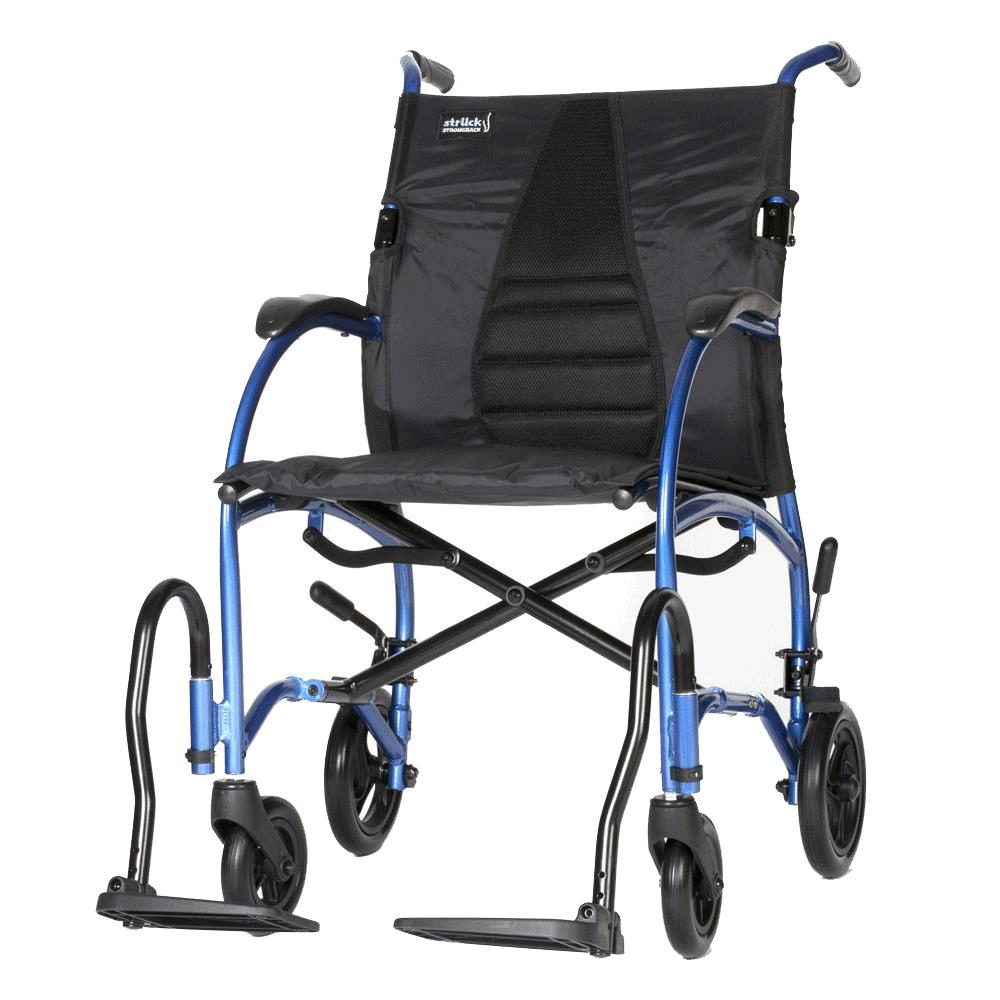 transport wheel chair hanging upside down for back strongback ergonomic wheelchair lightweight chairs