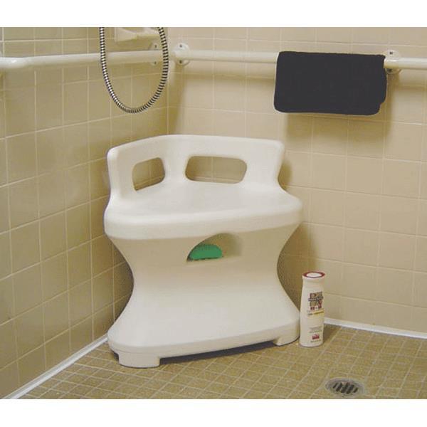 Maddak Corner Shower Seat  Shower Chairs