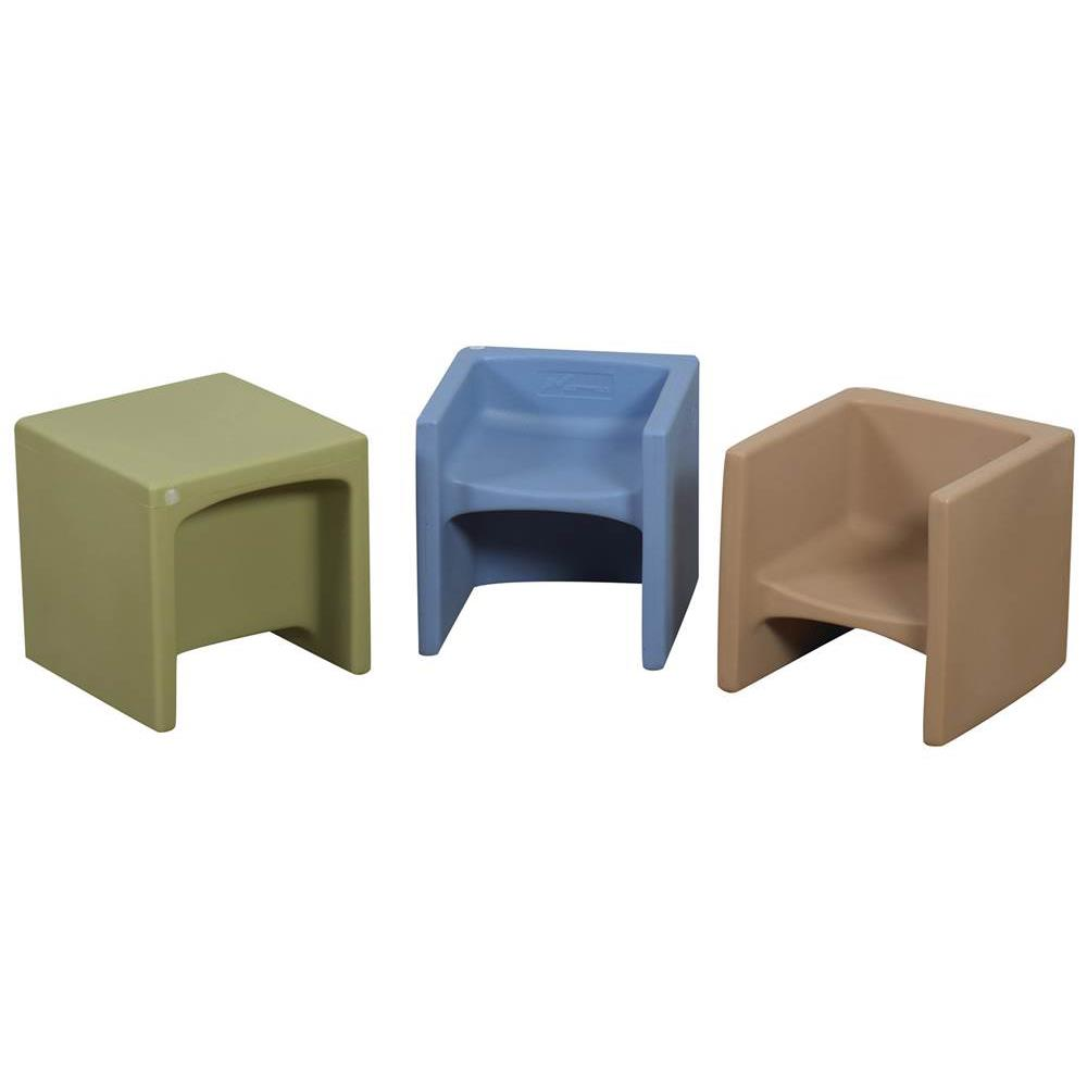 Childrens Factory Woodland Cube Chairs  Tables and Chairs