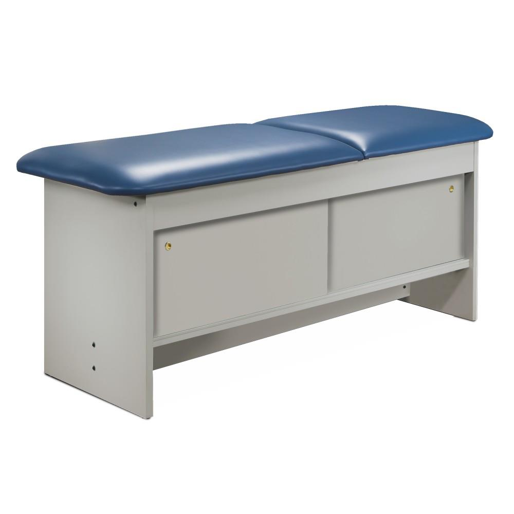 Clinton Cabinet Style Laminate Treatment Table with Four