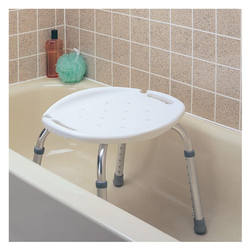 Carex Adjustable Bath and Shower Seat  Shower ChairsBenches