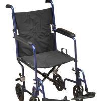 Lightweight Folding Transport Chair | Transport Wheelchair