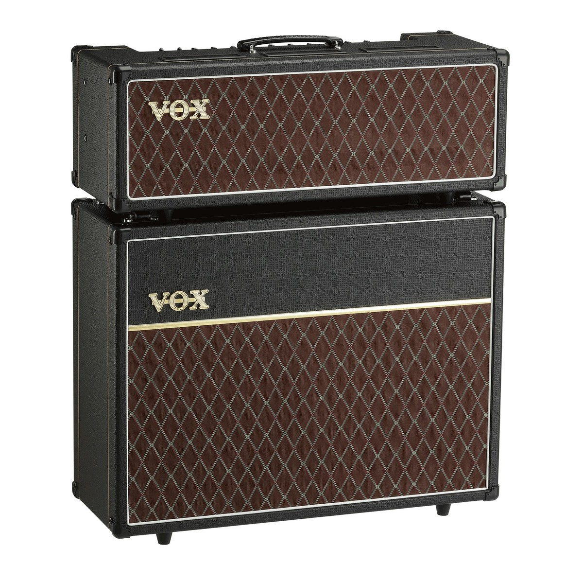 Vox AC30 Head and V212C 2x12 Cabinet  Free Vox Cable at