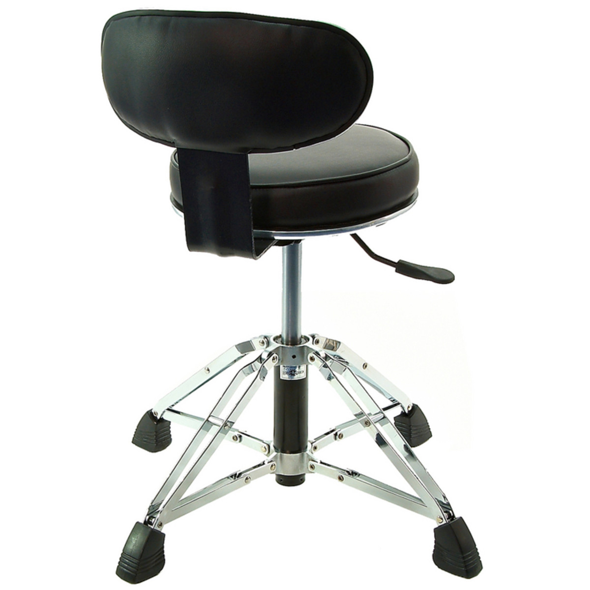 Drum Chair High Grade Drum Throne With Backrest At Gear4music