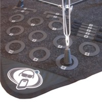 Protection Racket Drum Mat Marker Pack, Numbered at ...