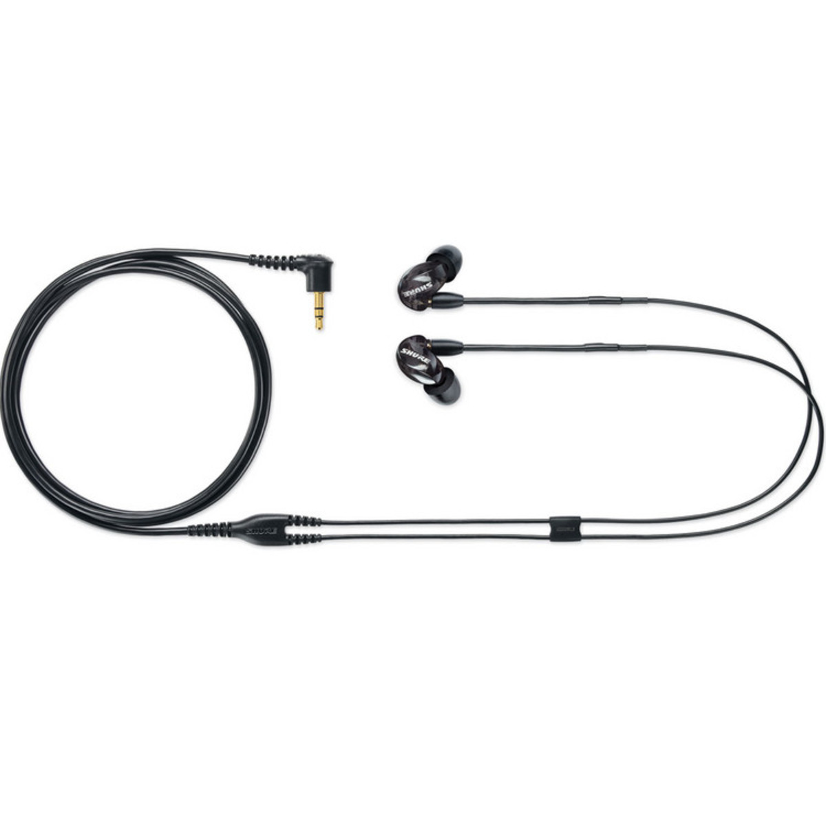 Shure Se215 Sound Isolation Earphones Black At Gear4music