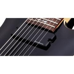 Duncan Designed Active Hb 105 Wiring Diagram 2004 Nissan Frontier Schecter Omen 8 String Electric Guitar Gloss