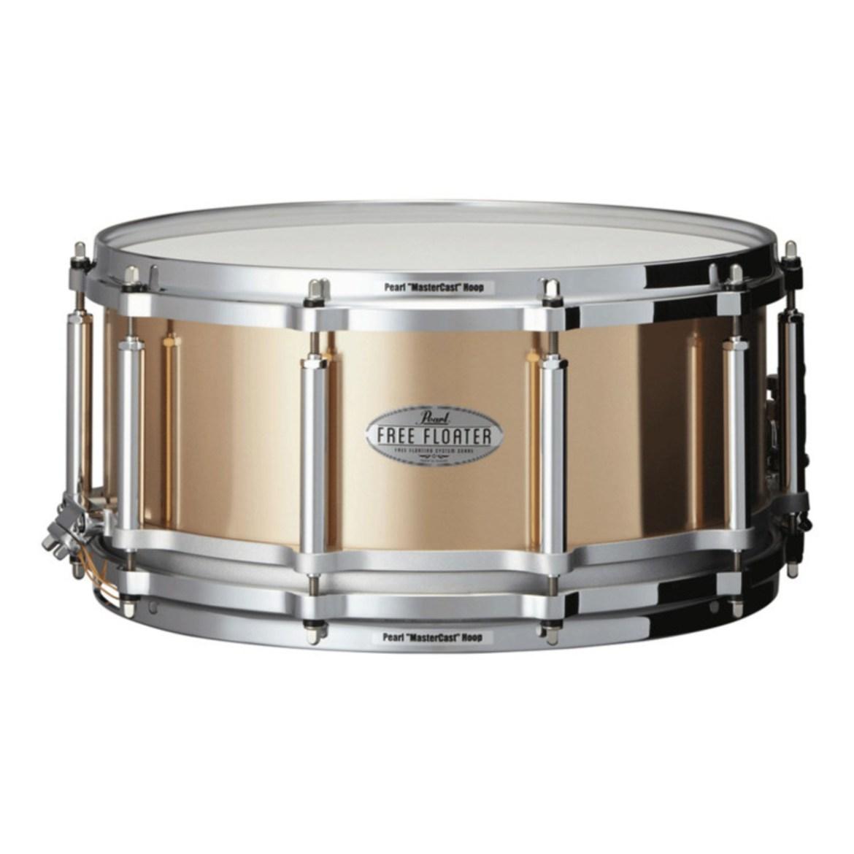 Pearl FTPB1465 Free Floater 14 x 6.5 Snare Drum Phosphor Bronze