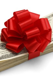 down payment gifts
