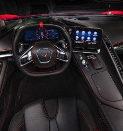 motortrend takes a first look at the interior of the 2020 corvette stingray [ 1280 x 720 Pixel ]