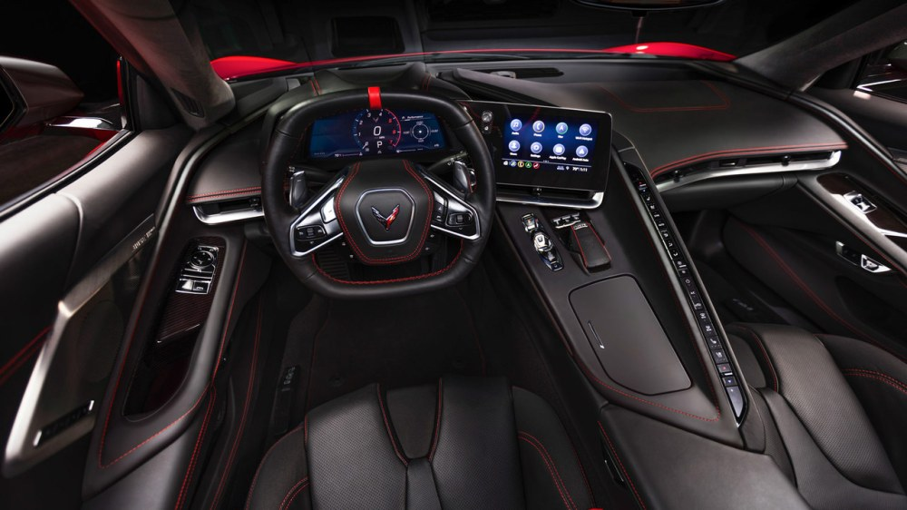 medium resolution of motortrend takes a first look at the interior of the 2020 corvette stingray