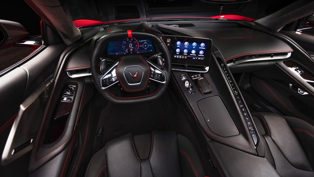 hight resolution of motortrend takes a first look at the interior of the 2020 corvette stingray