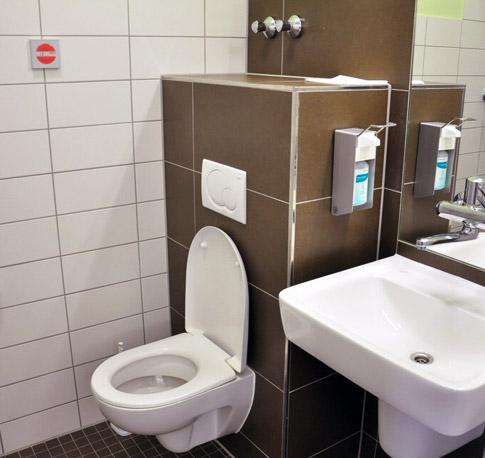 Sicheres Krankenhaus  Patientenzimmer  WC  Duschen