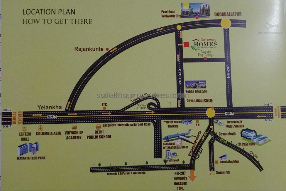 Gateway Homes In IVC Road, Bangalore By Gateway Shelters