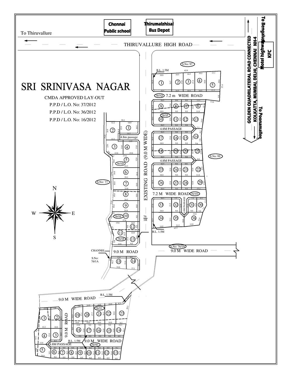 Raj Sri Srinivasa Nagar in Poonamallee, Chennai by Raj