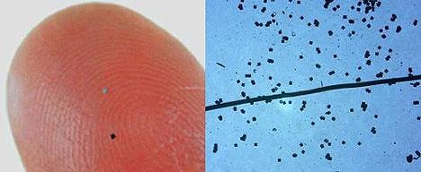 Powder-type RFID from Hitachi