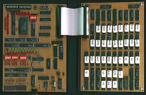 Homebrew 4-bit processor