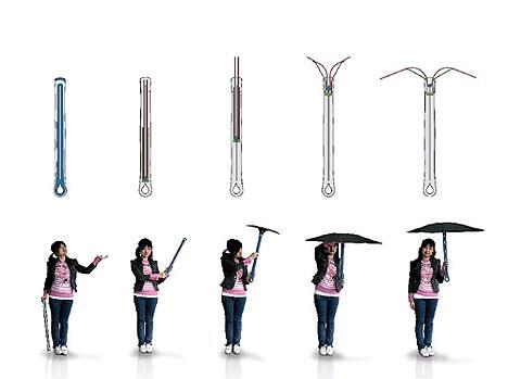 Sprout Umbrella concept