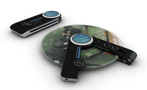 Portable music player concept
