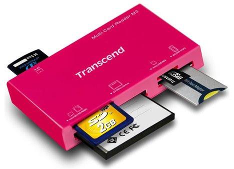 Transcend M3 Multi-Card Reader
