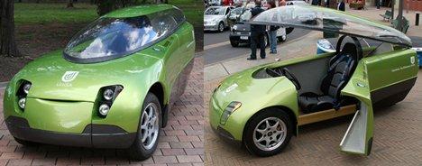Trev The Green Car