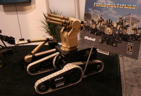 Metal Storm works on iRobot
