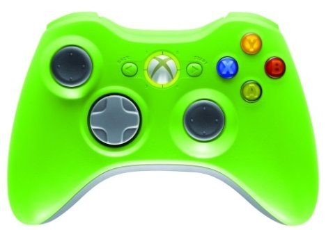 Xbox 360 Controller Gets New Colors