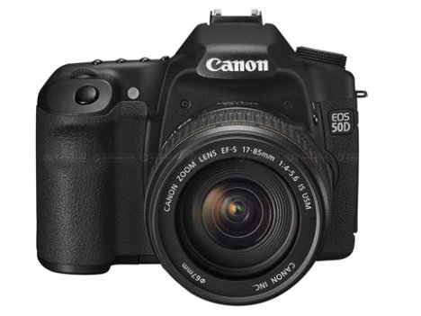 Canon EOS 50D Now Official