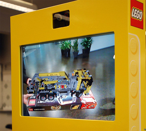 Lego Digital Box Kiosk Uses Augmented Reality in Retail Stores