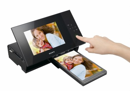 Sony Digital Frame with built-in printer